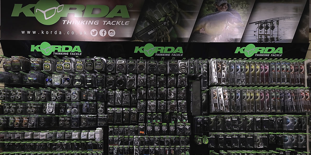Arun Angling Centre West Sussex Korda Fishing Tackle Stockists
