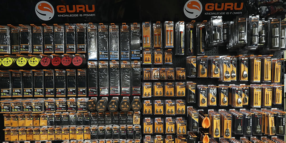 Arun Angling Centre West Sussex Guru Fishing Tackle Stockists