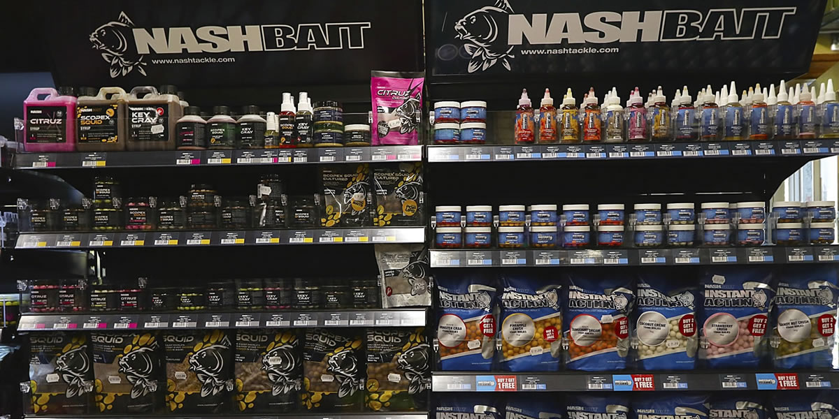 Arun Angling Centre West Sussex Nash Bait Stockists