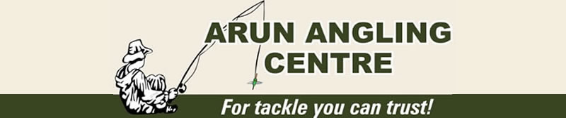 Arun Angling Centre West Sussex Freshwater Fishing Tackle Stockists